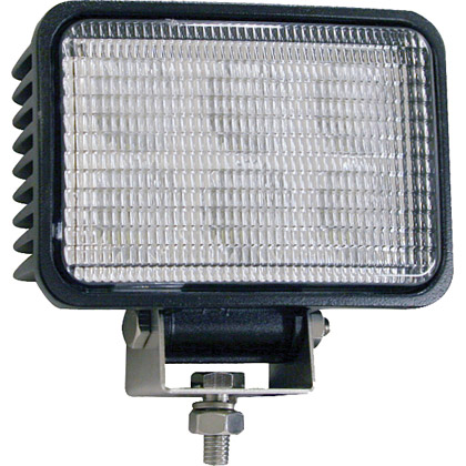 "Picture of 4"" x 6"" 6 LED Clear Rectangular Flood Light"