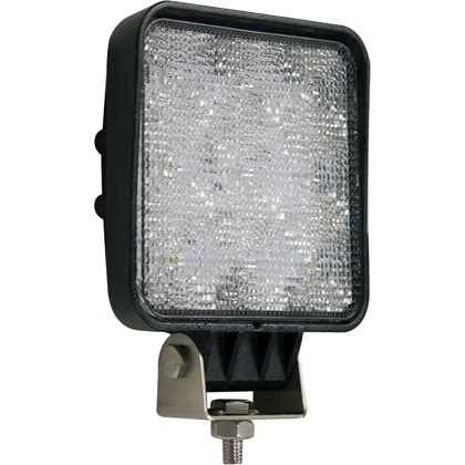 "Picture of 5.25"" 9 LED Clear Square LED Flood Light"