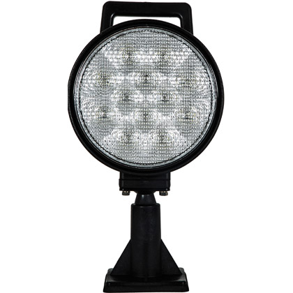 "Picture of 6"" 12 LED Clear Adjustable Flood Light"