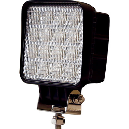 "Picture of 4.625"" x 3"" 16 Clear LED Square Flood Light"