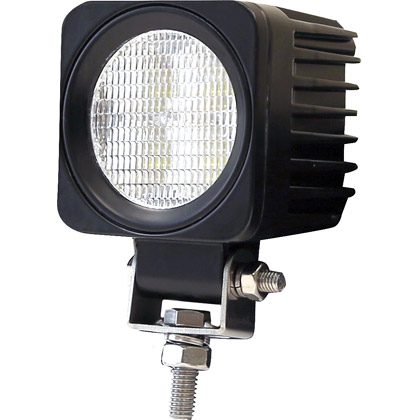 "Picture of 2.6"" x 2.56"" 4 Clear LED Square Flood Light with Circular Lens"