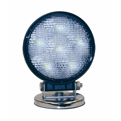"Picture of 4.25"" Round LED Magnetic Utility Flood Light"