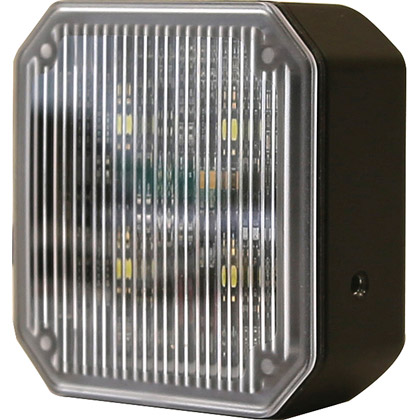 "Picture of 2.8"" 4 Clear LED Square Flood Light"