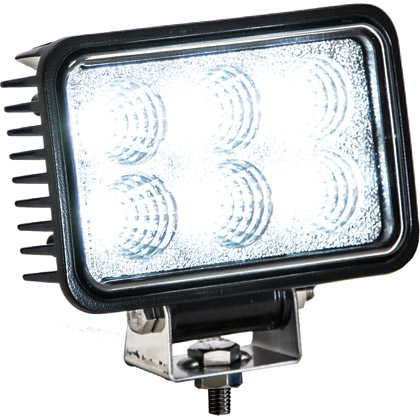 Picture of 6 LED Clear Rectangular Spot Light