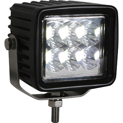Picture of 12V-24V 6 Clear LED Square Spot Light