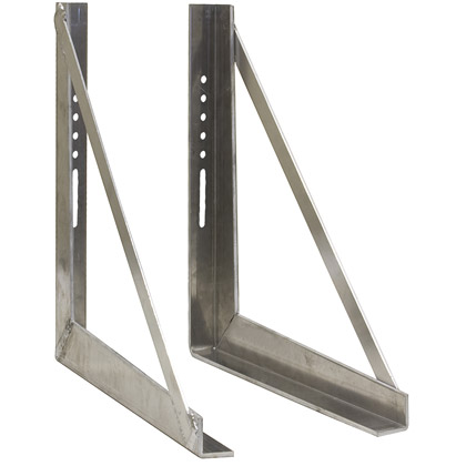 "Picture of 18"" x 18"" Welded Stainless Steel Underbody Mounting Brackets"