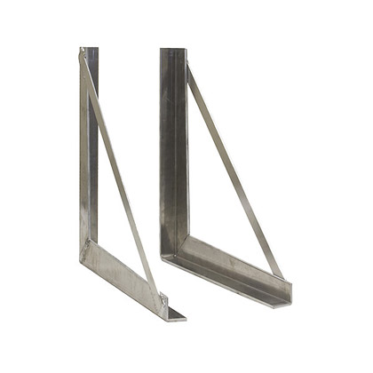 "Picture of 24"" x 24"" Aluminum Mounting Brackets"