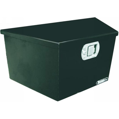 "Picture of 12"" x 13.25"" x 26""/14"" Steel Trailer Tongue Toolbox"