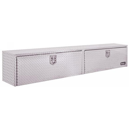 "Picture of 18"" x 16"" x 90"" Diamond Tread Aluminum Topside Toolbox"