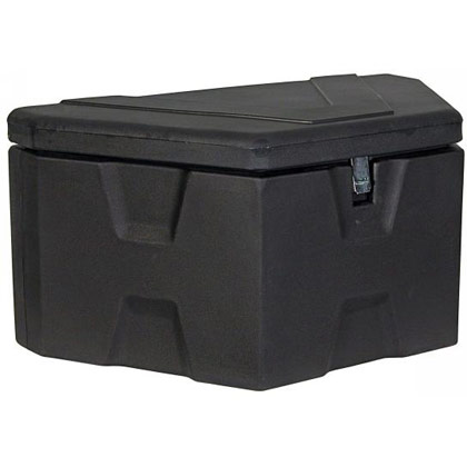 "Picture of 18"" x 19"" x 36""/18"" Black Polymer Trailer Tongue Toolbox"
