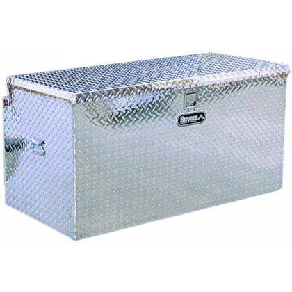 "Picture of 24"" x 22-1/2"" x 48"" Aluminum Hitch Chest Box Fits All 2"" Receiver Tubes"