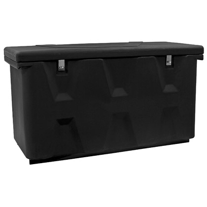 Picture of Black Poly All Purpose Chest with Vehicle Mount Kit