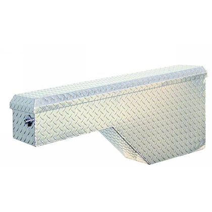 """Picture of 19"""" x 13"""" x 46-1/4"""" Aluminum Pork Chop Box for Passengers Side Rear/Drivers Side Front"""