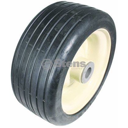 Picture of Steel Wheel Assembly with Grease Zerk - 8-3 1/2