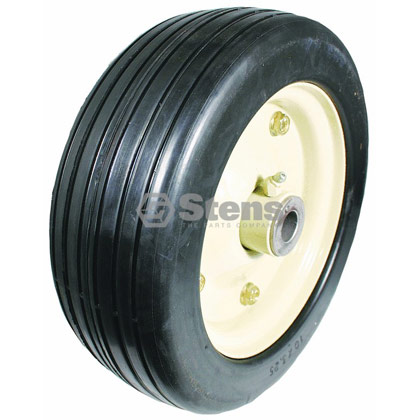 Picture of Steel Wheel Assembly with Grease Zerk - 10-3-1/4""