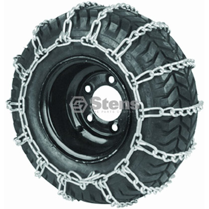 Picture of 2 Link Tire Chain for Tire Sizes 16-650-8 and 15-600-6