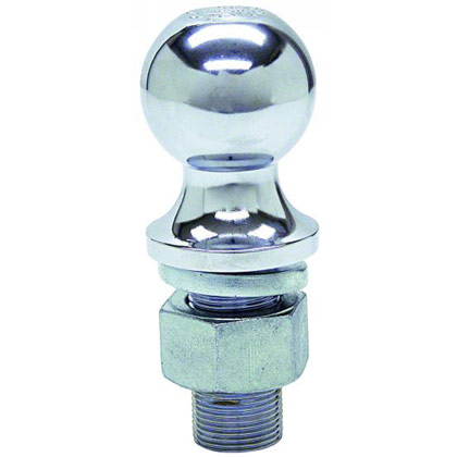 "Picture of 10000# Chrome Hitch Towing Ball - 2-5/16"" x 1-1/4"" x 2-3/4"""