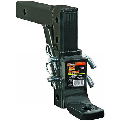 "Picture of 4-Position Adjustable Ball Mount with 11"" Max Drop and 9-3/4"" Max Lift"