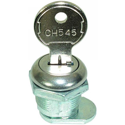 Picture of Cylinder and Key for Junior Size Latches