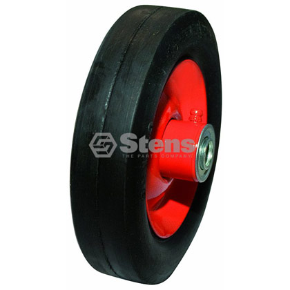 Picture of Steel Ball Bearing Wheel for Commercial Mowers with Zerk Fitting - 6-175