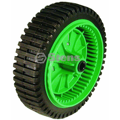 Picture of Green Rim Gear Drive Wheel - 8-200