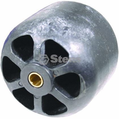 Picture of Plastic Deck Roller with Metal Bushing - 3-7/8""