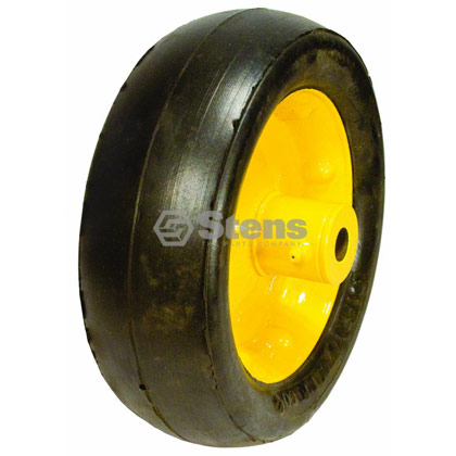 Picture of Steel Deck Wheel with Metal Hub and Grease Zerk - 8 1/4 INCH