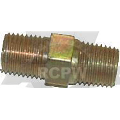 "Picture of 1/4"" Brass Hex Nipple (2 Required)"