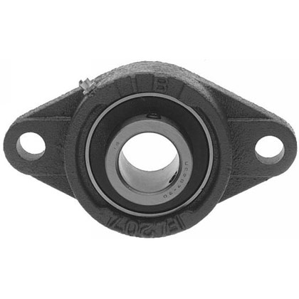 "Picture of 2-Hole Eccentric Locking Collar Flange Unit - 3/4"" I.D."