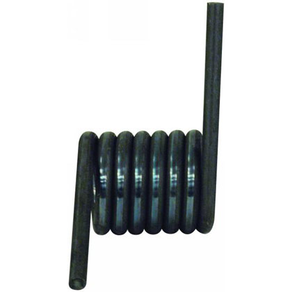 Picture of Right Hand Coil Torsion Ramp Spring with Plain Finish