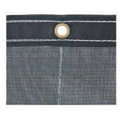 Picture of 7' x 28' Black Mesh Replacement Dump Tarp
