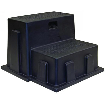Picture of Black Polymer Utility Step