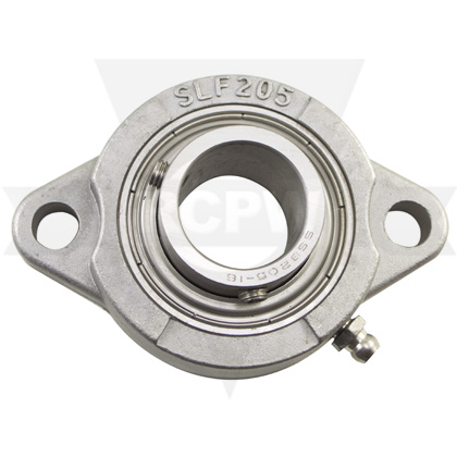 Picture of Bearing, 1in Dia, 2 Hole Flange Stainless