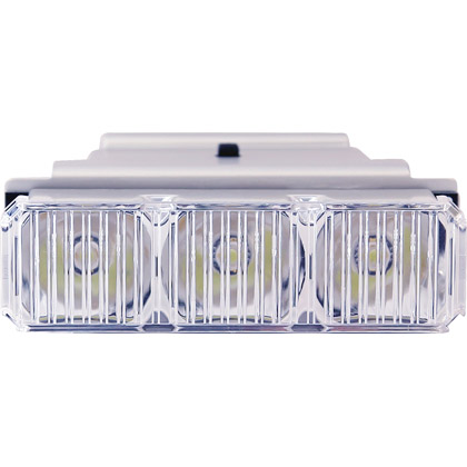 Picture of 3 LED Reflector Amber Middle Light Bar Replacement Module