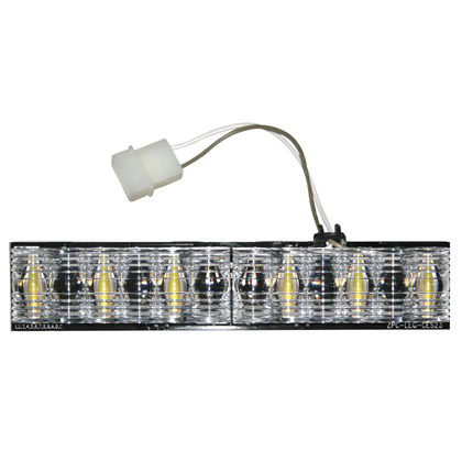 Picture of 6 LED D-Fuser Clear Corner Light Bar Replacement Module