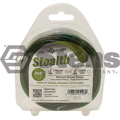 "Picture of .095"" ""Stealth"" Trimmer Line - Clamshell"