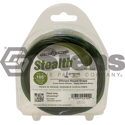"Picture of .105"" ""Stealth"" Trimmer Line - Clamshell"