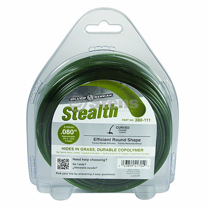 "Picture of .080"" ""Stealth"" Trimmer Line - 1/2 lb. Donut"