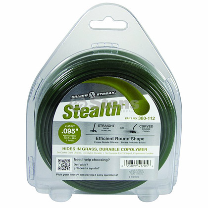 "Picture of .095"" ""Stealth"" Trimmer Line - 1/2 lb. Donut"