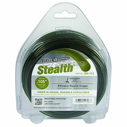 "Picture of .105"" ""Stealth"" Trimmer Line - 1/2 lb. Donut"