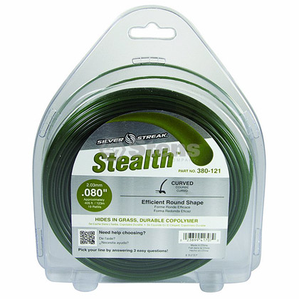 "Picture of .080"" ""Stealth"" Trimmer Line - 1 lb. Donut"