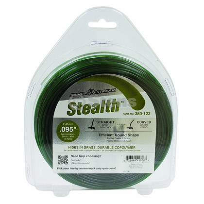 "Picture of .095"" ""Stealth"" Trimmer Line - 1lb. Donut"