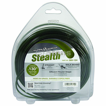 "Picture of .130"" ""Stealth"" Trimmer Line - 1 lb. Donut"