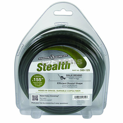 "Picture of .155"" ""Stealth"" Trimmer Line - 1 lb. Donut"
