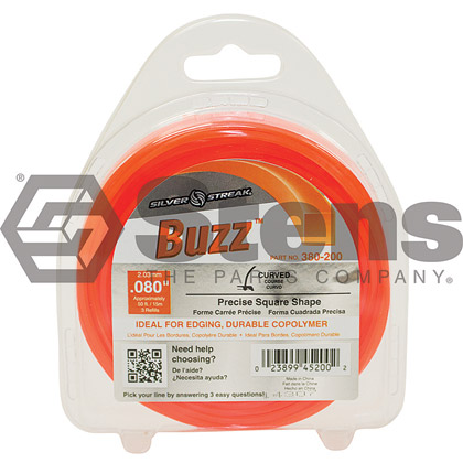 "Picture of .080"" ""Buzz"" Trimmer Line - Clamshell"