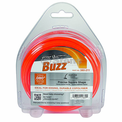 "Picture of .080"" ""Buzz"" Trimmer Line - 1/2 lb. Donut"
