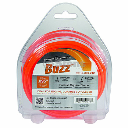 "Picture of .095"" ""Buzz"" Trimmer Line - 1/2 lb. Donut"