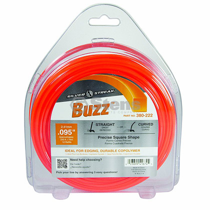 "Picture of .095"" ""Buzz"" Trimmer Line - 1 lb. Donut"