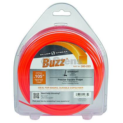 "Picture of .105"" ""Buzz"" Trimmer Line - 1 lb. Donut"