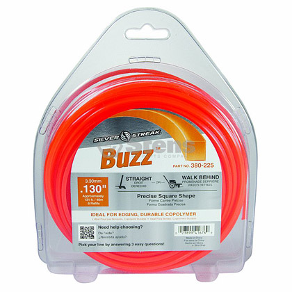 "Picture of .130"" ""Buzz"" Trimmer Line - 1 lb. Donut"
